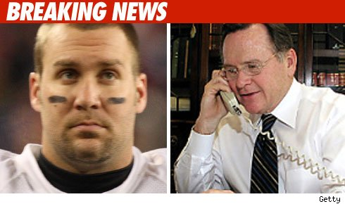 Ben Roethlisberger and his Lawyer
