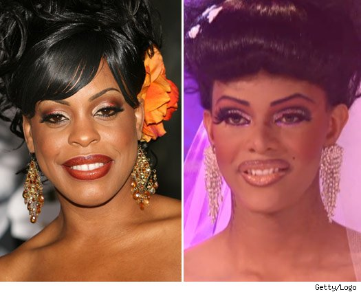 Niecy Nash and Tyra Sanchez