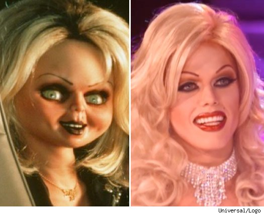 Bride of Chucky Is on 'RuPaul's Drag Race'?