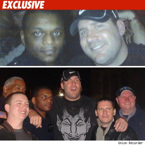 Ben Roethlisberger with cops