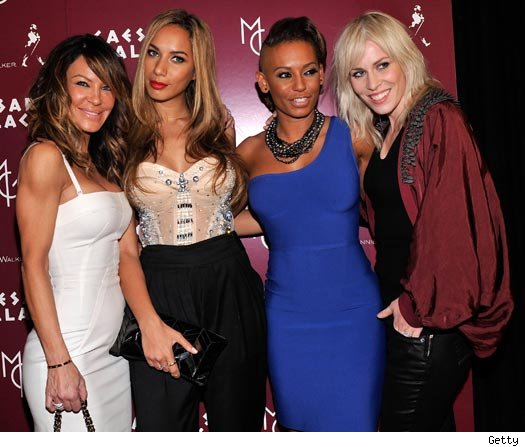 Robin Anti, Leona Lewis, Mel B and Natasha Beddinfield