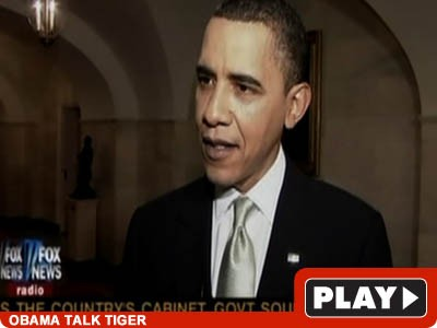 Barak Obama and Tiger Woods: Click to View!