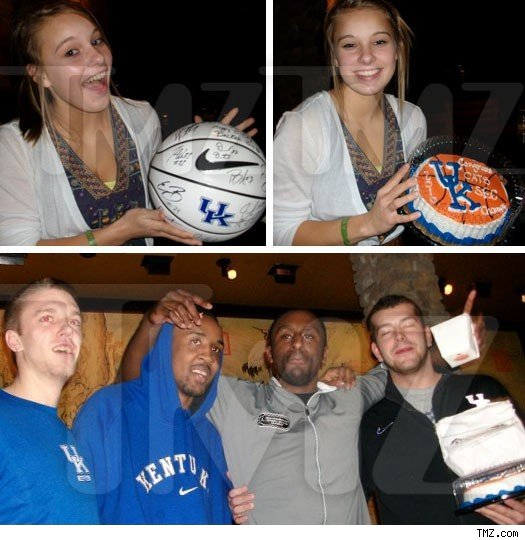 Kentucky Wildcats Give Fan B-Day To Remember