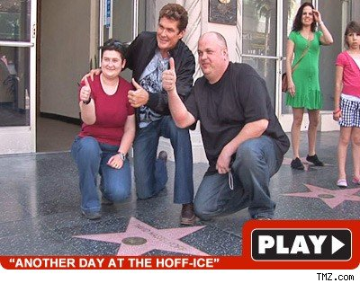 David Hasselhoff: Click to watch