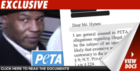PETA's Miky Tyson Letter: Click to View!