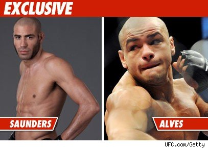 UFC Replaces Thiago Alves on Fight Card