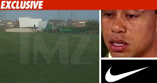Tiger Woods Shoots New Commercial for Nike