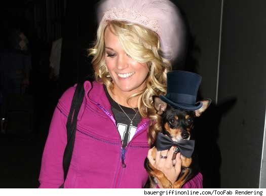 There's gonna be a dog in Carrie Underwood's wedding party  and we don't