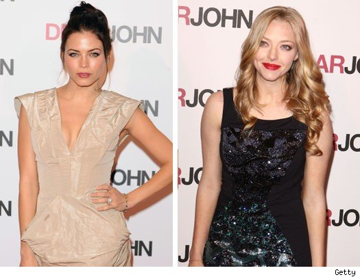 Jenna Dewan and Amanda Seyfried