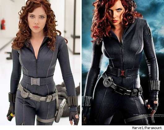 scarlett johansson leather jacket. Catsuit can be leather or
