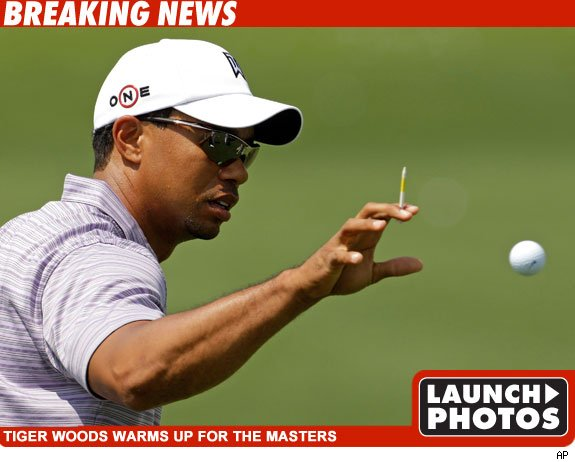 Tiger Woods Has Arrived
