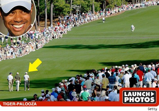 Tiger Woods -- Fandemonium at Masters