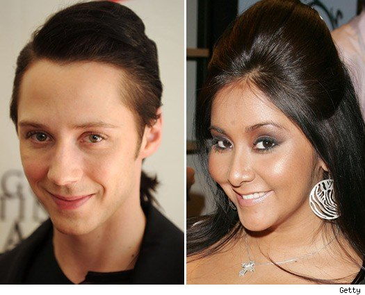 Johnny Weir and Snooki
