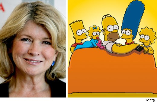 Martha Stewart &amp; The Simpsons