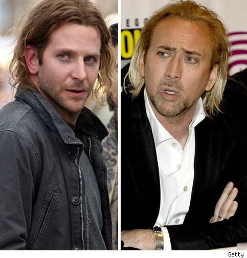 Bradley Cooper and Nic Cage