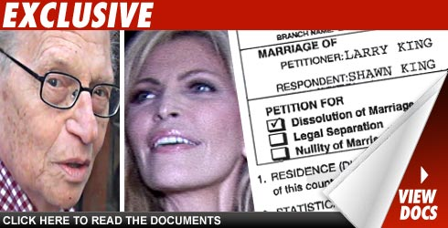 Larry King divorce document