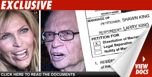 Larry King's Wife Wants Home Alone