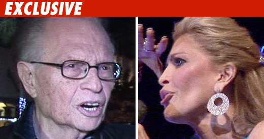 Larry King -- Shawn Fights Unfairly