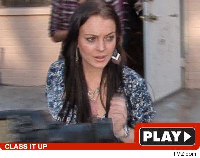 Lindsay Lohan on Depo Drama