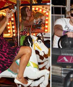 Paris &amp; Kellan Hit Coachella Carnival