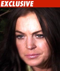 Lindsay Lohan's Butt on the Line