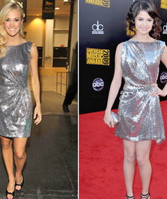 Carrie &amp; Selena&#039;s Dress -- How Much It Cost?