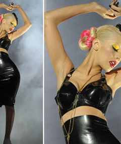 Aguilera&#039;s New Video -- Pleather Princess