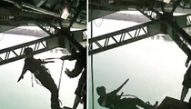 Bieber Bungee Jump -- The Mystery Scream