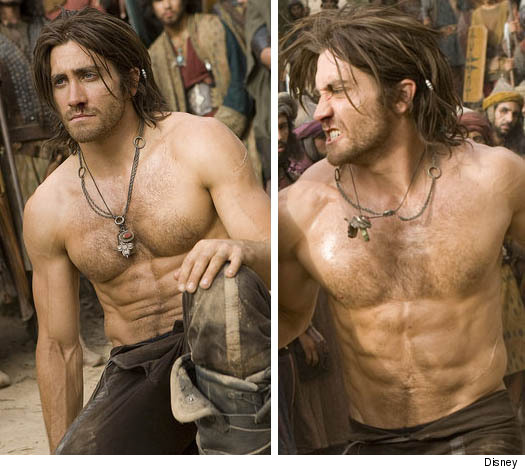 By the looks of Jake Gyllenhaal's ridiculously hot jacked up torso, ...