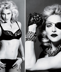 Madonna in Interview Magazine -- Just 'Cuz