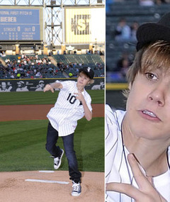 Justin Bieber Hits the Major League