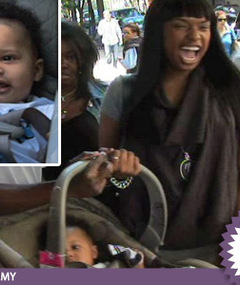 Jennifer Hudson -- Hot, Happy Mama!