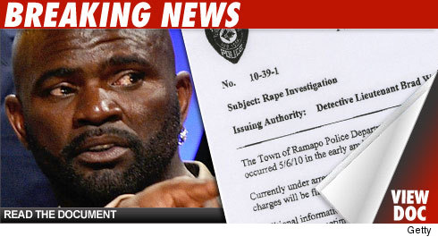Lawrence Taylor has been arrested for rape