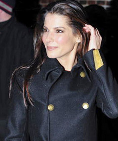 Sandra Bullock -- Mother&#039;s Day with Louis