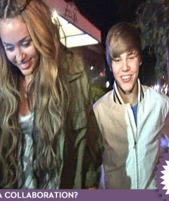 Miley's Younger Dude -- Justin Bieber!