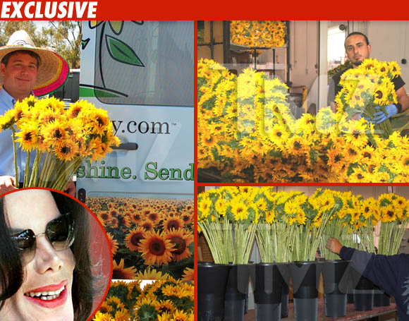 Michael Jackson en el cielo de girasoles == Michael Jackson in Sunflower Heaven