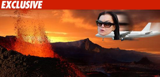 Lindsay Lohan Volcano
