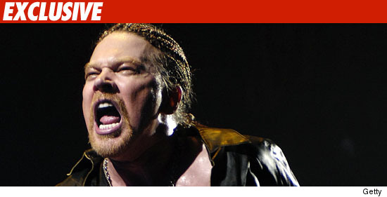 Axl Rose: Guns N' Roses