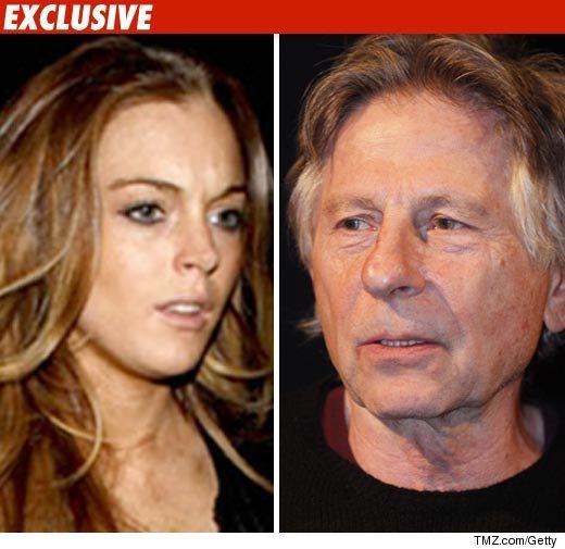 Roman Polanski & Lindsay Lohan