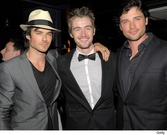 Ian  somerhalder vs. Robert buckley vs tom welling
