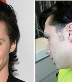 Johnny Weir's Pink Mullet: Yay or Nay?
