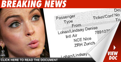 Lindsay Lohan Had a Ticket to Ride