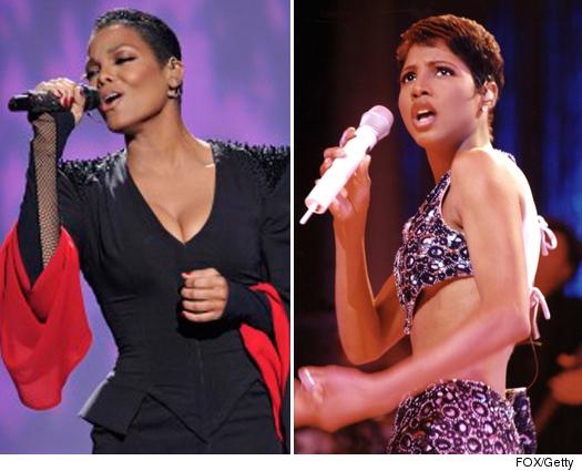 Toni Braxton & Janet Jackson