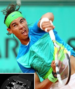 Rafael Nadal Beats Opponent ... in $525K Watch