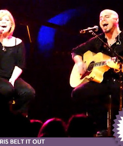 'Idol' Duet -- Daughtry & Kelly Clarkson!