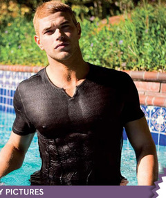 Kellan Lutz in DaMan Magazine -- Just Cuz!