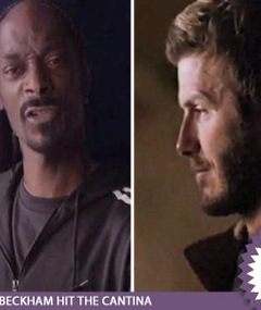 Beckham and Snoop -- Out of This World
