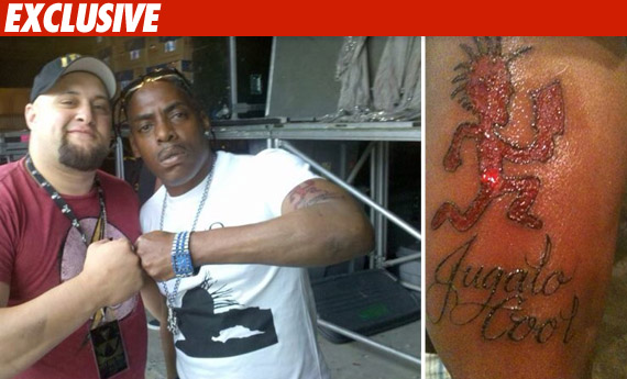 Coolio's brand new tattoo was supposed to impress his tour mates Insane