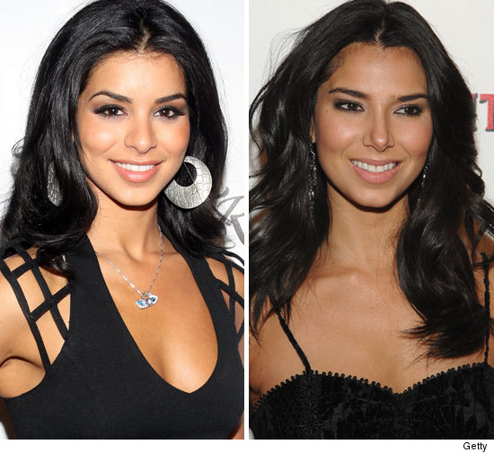 Miss USA Rima Fakih and Roselyn Sanchez