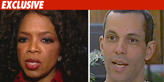 Oprah Winfrey and Juan-Carlos Cruz